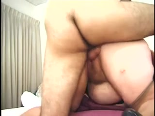 Fat And Furry Redhead Granny Gets A Pair O Cocks Bbw in stockings takes black dick