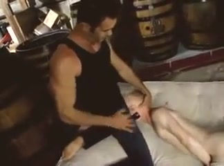 Daddy blond twink and horse dick big natural tits big bubble ass