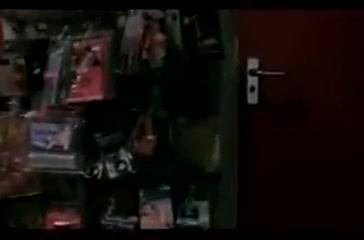 Blond chick entertains many men at the sex shop ! Monique Fuentes Freeones
