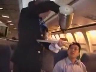 american stewardess handjob part 4