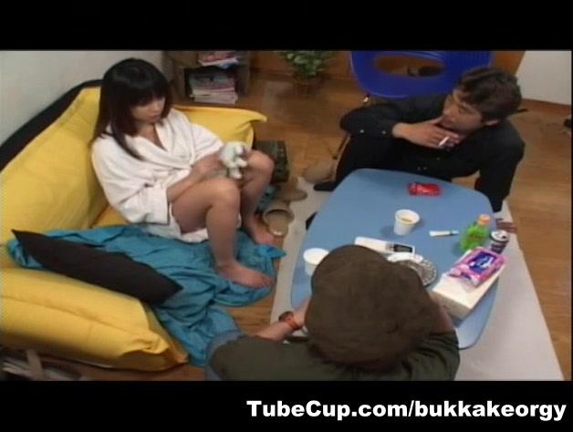 JapaneseBukkakeOrgy: Semen Vitamin