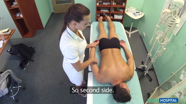 Don in Hot nurse massages patient before sucking and fucking him - FakeHospital balls in sluts arse