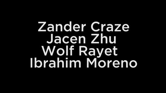 Zander Craze Jacen Zhu Wolf Rayet Moreno Shaved fishnet hose high heels