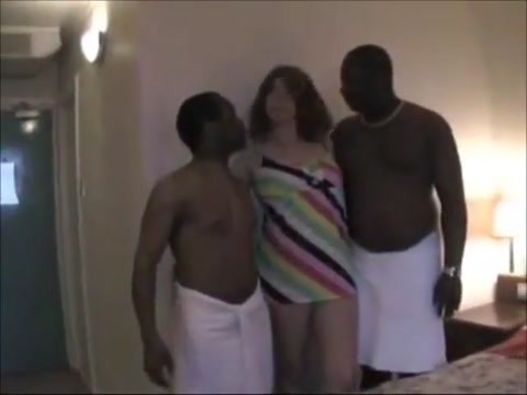 Angel With Two BBC free interracial xxx porn
