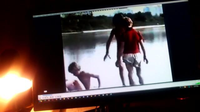 Masturbates watching Hot teen lesbians experiment on camera