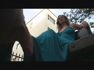 Public Footworship 1 girl force girl fuck