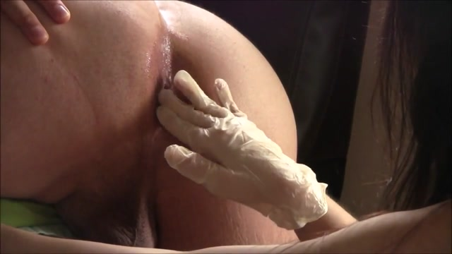 Pegging with big Strapon Dildo My tits on selfie