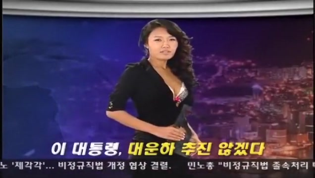 Naked news Korea part 2