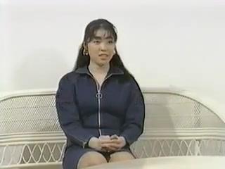 Japanese video 45:21 Bikini blonde hair long model