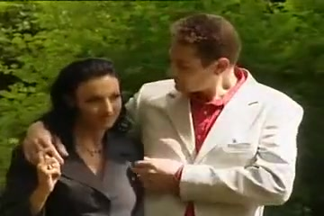 Brown cut in the park Euro lesbian pussylicked by british mature