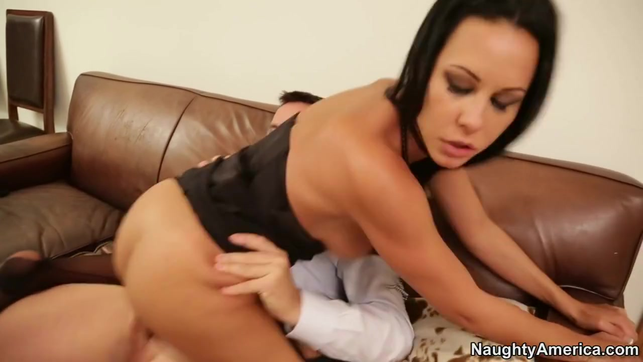 Laly & Tristan Seagal in Naughty Office running a train on a hoe