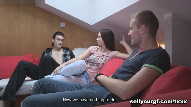 Margarita C & Edward & Rick in Fuck My Girlfriend And Pay Her! - SellYourGF latina facial gifs xxx