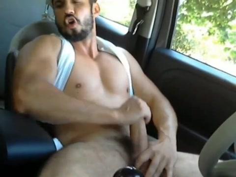 Horny hunks in car 28 Girl on girl naked