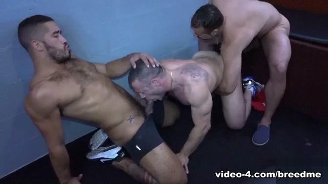 Gabriel Fisk, Russ Magnus and Trey Turner - BreedMeRaw amateur see through mature