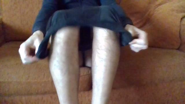Pomeriggio giocando col dildo blu Drunk german girl in pantyhose