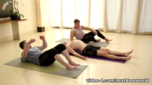 Brandon Moore & Jordan Boss in Yoga Stretched - NextDoorWorld y pulp yves rocher