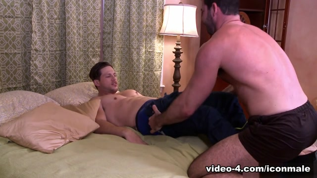 Billy Santoro & Roman Todd in Youre Late - IconMale Butt african girl lick dick and anal