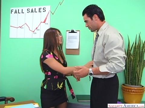 Rachel Roxxx & Charles Dera in NaughtyOffice