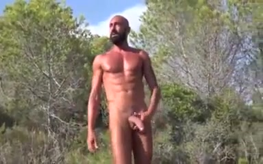 Horny gay clip with Outdoor scenes German couple fucking free film