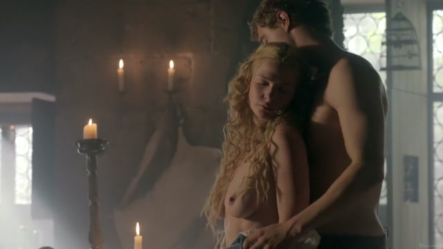 The White Queen S01 (2013) Rebecca Ferguson Small tits girls lick cock and facial
