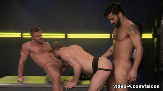 Cock Fight! XXX Video: Landon Conrad & Shawn Wolfe & Adam Ramzi - FalconStudios Matthew hussey married