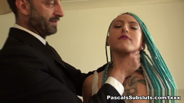 Orion in craves getting choked - PascalsSubSluts Classy sexy mature women
