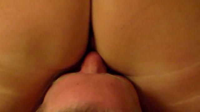 Wife Sits on Sissy Husbands Face Big Huge Boobs Tube