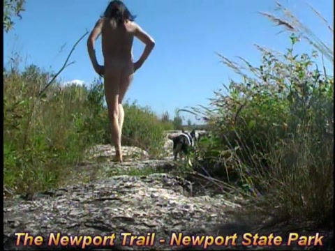 Nude hiking at newport wilderness park Voyeur Hidden Cam Video