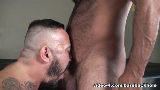 Alessio Romero and Vinnie Stefano - BarebackThatHole Mexican big booty porn