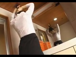 Hitomi Kurosaki - Sexy Japanese Housewife Servant imaging norman