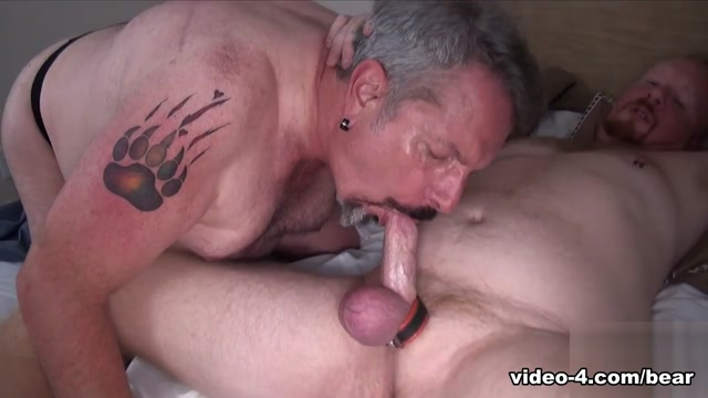 Tiger and Frenchey Pharoah - BearFilms Darryl got with Morgan