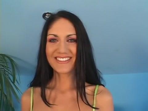 Fabulous pornstar Sarah Twain in exotic cumshots, brunette porn movie