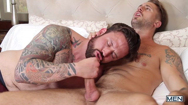Jordan Levine & Wesley Woods in Ghosts Of Christmas : A Gay XXX Parody Part 2 - DrillMyHole selma blair sex movies