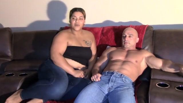 Sucking my Step Daddys Dick - Interracial