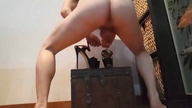 fuck , shoejob and cum over stripper heels Big tit chubby redhead julie