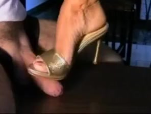 Cum in high heels shoe where to buy long sexy jeans