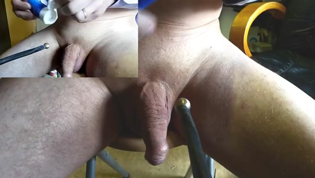 Amazing estim POV orgasm peehole electrostim zoom cam01 increase in sperm load