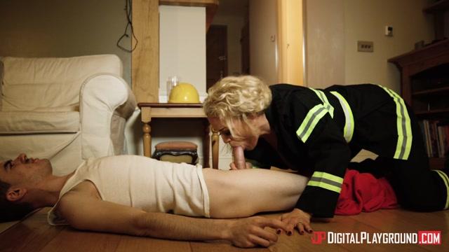 Jordi & Rebecca Jane Smyth in Female Firefighter - DigitalPlayground