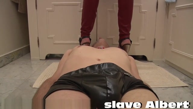 French Personal Foot Slave&Toilet
