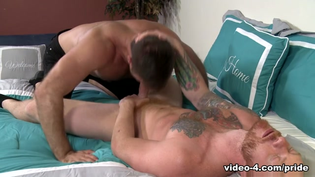 Bennett Anthony & Jack Andy in First Time With A Ginger - PrideStudios Tall skinny sexy milfs