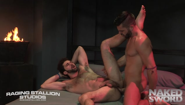 Clothing Optional - Raging Stallion Erotic slave lick penis and squirt