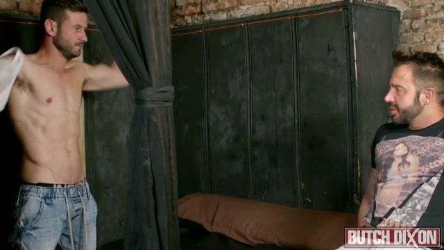 Martin Mazza & Dany Romeo - ButchDixon Scissor style sex