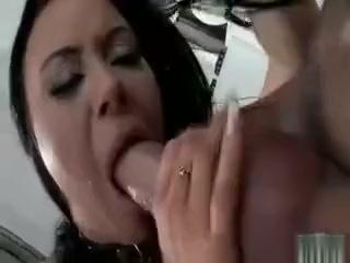 Hot Black Leather Nasty Sexy Body Babe Mall tits kyoko nakajima provide angelic blowjob on cam