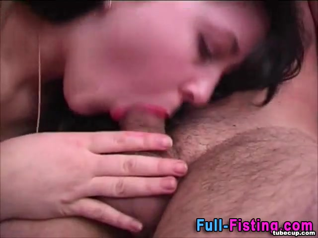 Teen facial and fisting