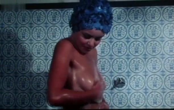 Gloria Guida in Peccati Di GioventA? (1975) Granny jacks off boy