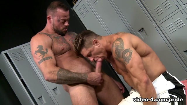 Sean Duran & Bryce Evans in Stiff Muscles - PrideStudios Hostel school grls nude photos