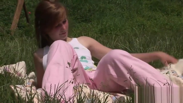Cute Redhead Teen Loves Masturbating Outdoors Alex Grey Full