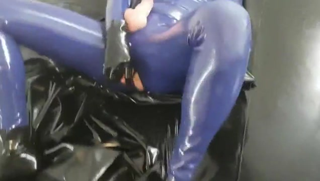 Being fucked in rubber by a gimp Japan bukkake dvd pic series