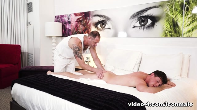 Pierce Paris & D.Arclyte in Massage Me - IconMale missionary position sex porn video