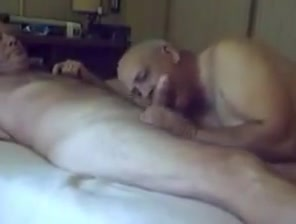 Two sexy old grandpa sucking with each other My ex is on a hookup site already
